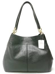 Coach F57545 Lexy Pebble Leather Shoulder Bag (Black)  Handbags  Amazon.com