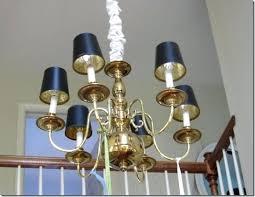 brass chandelier with shades black shades brass chandelier black shades brass chandelier with shades