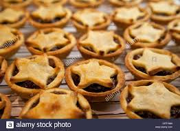 Decorative Wire Tray Decorative mince Pies Christmas on wire tray Stock Photo Royalty 47