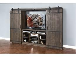 Sunny Designs Home Entertainment Tobacco Leaf Barn Door ...