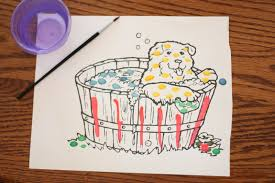paint with water coloring book.  With DIY  For Paint With Water Coloring Book I Can Teach My Child