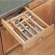 Drawer Organizers Rev A Shelf Wood Cutlery Tray Drawer Insert Silverware Drawer  Organizer Wood