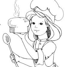 Small Picture 77 ideas Girl Chef Coloring Pages on kankanwzcom
