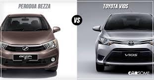 perodua new release carHead to Head Perodua Bezza Advance vs Toyota Vios J  Carsome