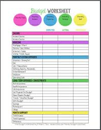 Family Budget For A Month 20 Gorgeous Free Budget Printables I Want A Bit More