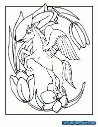 Baby Pegasus Coloring Pages Free Printable Coloring Pages