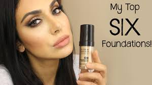 i ve been doing my best to listen to you guys and i saw a lot of request for my top foundations so i thought a video would be