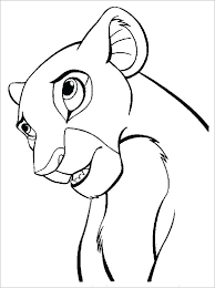 Simba And Nala Coloring Pages Coloring Page Best Free Lion King Scar