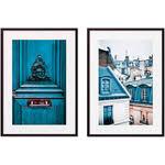 Купить <b>Набор из 2-х постеров</b> Дом Корлеоне Коллаж Париж №11 ...