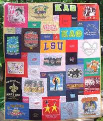 24 best t-shirt quilts images on Pinterest | At home, Calm and ... & Only with Joel's old cool t-shirts Adamdwight.com