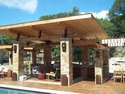 Patio Cover Material Options How To Connect A Porch Roof House Wood