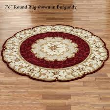small round area rugs designs