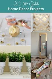 20 diy gold home decor projects diy for