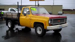 1979 CHEVY FLAT BED SOLD!!! - YouTube