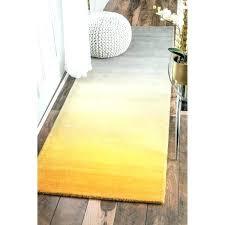 yellow runner rug uk contemporary rugs hall handmade kitchen wool