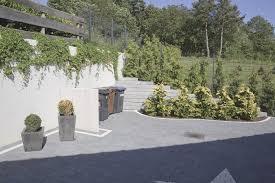 Design Sichtschutz Auf Stutzmauer Zum Innen Und Aussen Architektur