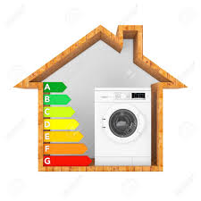Washing Chart Modern Washing Machine With Energy Efficiency Rating Chart In