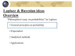 """laplace pierre simon de ppt video online  12 laplace bayesian ideas overview """"philosophical essay on probabilities"""""""