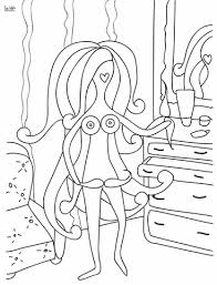 Small Picture Lady with Mustache coloring page Free Printable Coloring Pages