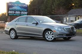 Mb training tech shop foreman + with mb of k for >10 years. Used Mercedes Benz E Class For Sale In Knoxville Tn Carsforsale Com