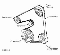 2004 ford taurus belt diagram inspirational serpentine belt diagram 2001 ford taurus wiring library