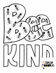 Printable throw kindness around like confetti #2476323. 6 Free Be Kind Printable Coloring Pages Stevie Doodles