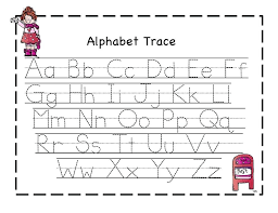 Printable Letter Sheets Free Alphabet Tracing Worksheets For ...