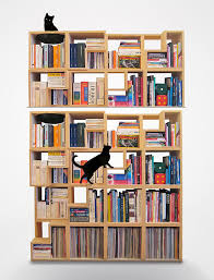 Bookcase Design Ideas 22 The Cat Library