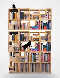Bookcase Design Ideas 22 the cat library