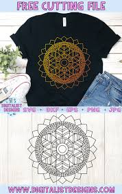 In order to use this file for commercial purposes, you need to obtain a commercial license. Free Mandala Svg Digitalistdesigns
