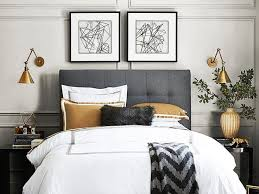 bedside sconces best ideas about bedroom sconce two wall lights bed pillow blanket
