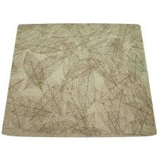 mix match leaf patterned round table shade