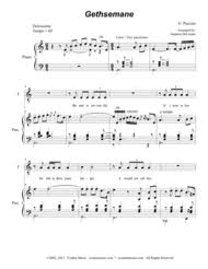gethsemane sheet music download gethsemane sheet music by giacomo puccini sheet music plus