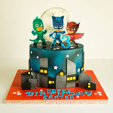 Decorating With Masks Seven Outrageous Ideas For Your Pj Masks Birthday Cake pj masks 60