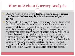 literary analysis ppt  how to write a literary analysis