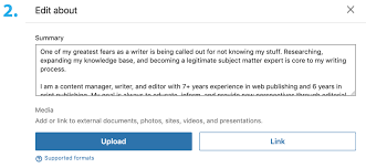 attach resumes how to upload your resume to linkedin step by step pics