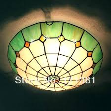 stained glass light fixture stained glass flush mount ceiling light best of fixture or 4 vintage