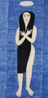 Alfredo-Volpi-pintura-mulher-santa-maria
