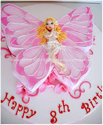 Fairy Birthday Cake Butterfly Birthday Cake Children Birthday
