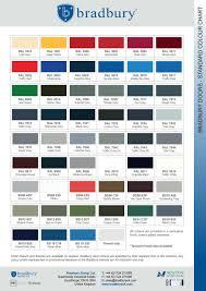 Bradbury Group Colour Chart 2017 By Caffeinemarketing Issuu
