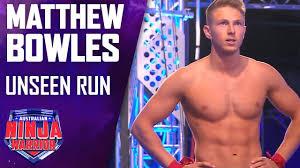 Matthew Bowles' unseen run   Australian Ninja Warrior 2019 - YouTube
