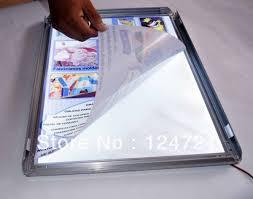Led Light Box Display Stand Slim aluminum frame LED Lightboxadvertise stand displayin LED 48