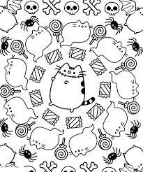 The Pusheen Coloring Pages Free To Print Get Coloring Page