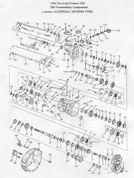 t56 6 speed manual transmission rebuild kits & repair parts Allison 2000 Parts Diagram t56camaropartsill_th_large jpg allison 2000 parts list
