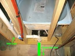 plumbing for a basement bathroom bathtub rough in plumbing image of basement bathroom drain plumbing bathtub