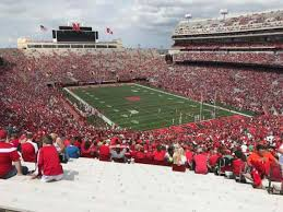 Seating Chart For Memorial Stadium Lincoln Nebraska Memorial Stadium Lincoln Section 19 Home Of Nebraska