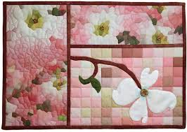 Electric Quilt, Photoshop Elements for Quilters, Classes ... & dogwood blossom.