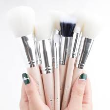eye makeup brushes guide. 100% pure brushes eye makeup guide
