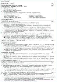 Cfa Candidate Resume Adorable Cfa Candidate Resume Candidate Resume Image Collections Resume