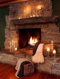 beautiful rustic cabin fireplace perfect for the winter e21 fireplace